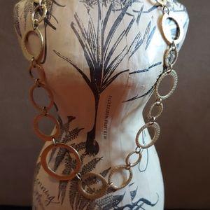 Jewelry - Premier Hoop-de- Hoop Gold Necklace